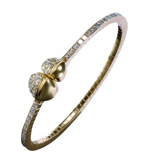 INSIGNIA DOUBLE FEATHER MAGNETIC BRACELET