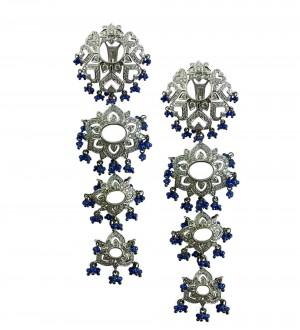 Sapphire CHANDELIER EARRINGS