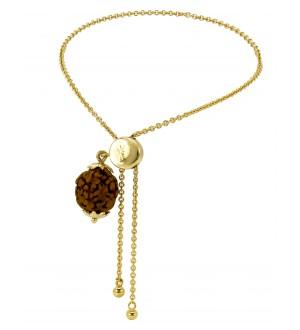 Rudraksh gold lumba(14K)