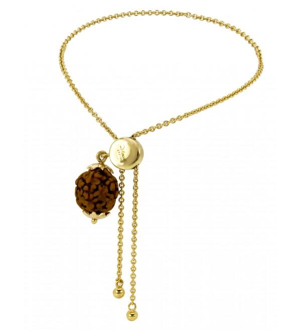 Rudraksh gold lumba(18K)