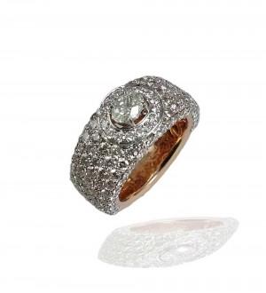 Oval cut, Diamonds band