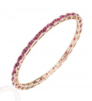 RUBY CHANNEL BANGLE
