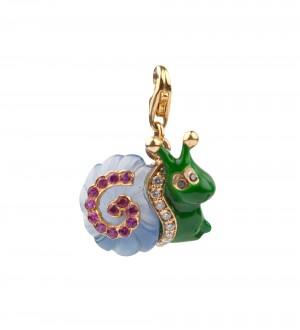 Snail pendant
