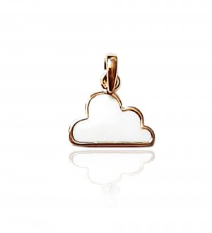 CLOUD PENDANT, GOLD