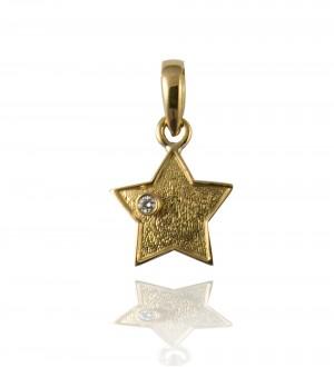 STAR PENDANT, GOLD