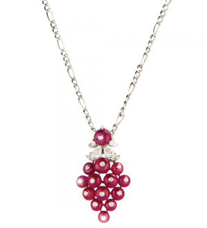 BERRY BUNCH RUBY PENDANT