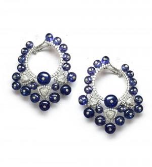 Blue Berry earrings