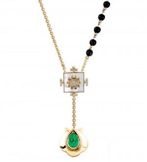 YANTRA Kamal necklace