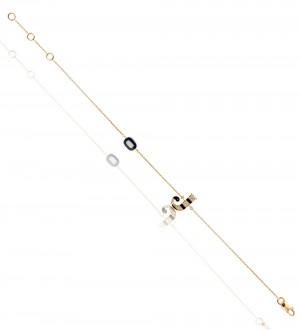 INITIAL BRACAELET Diamond-J