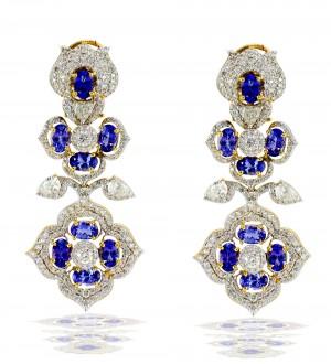 Neel kamal earrings
